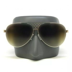 Other - Fashion Aviator Oversize Gold Frame Sunglasses
